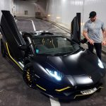 Who is GMK, the French and muscular millionaire who drives a Lamborghini ?